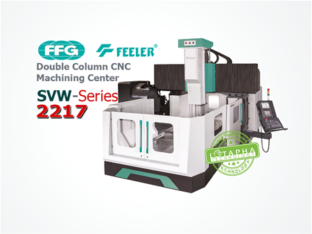 FEELER SVW 2217 | Double Column CNC Machining Center