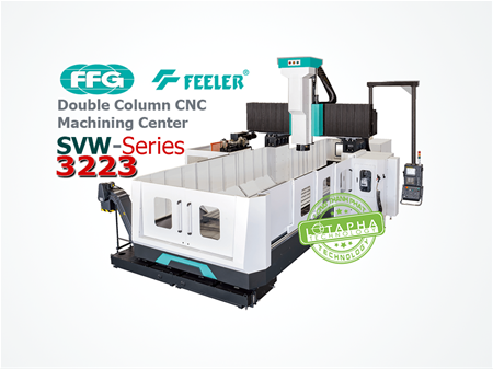 FEELER SVW 3223 | Double Column CNC Machining Center