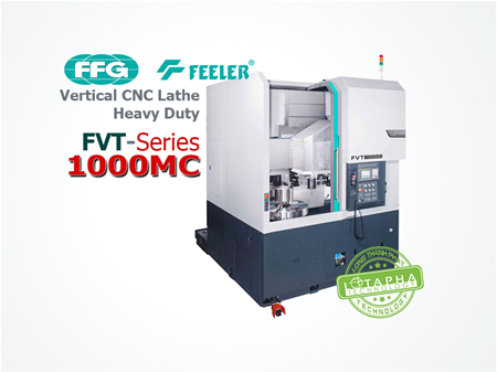 FVT 1000MC | Vertical CNC Lathe heavy Duty