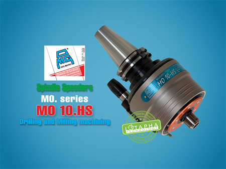 Spindle speeders With coolant through - OMG MO10.HS
