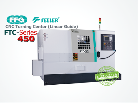 FEELER FTC 450 | CNC Turning Center (Linear Guide)